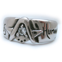 Platinum Brotherhood Ring
