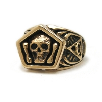 The Mortality Ring - 14K Yellow Gold