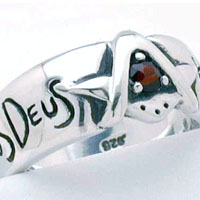 .925 Sterling Silver Brotherhood Ring