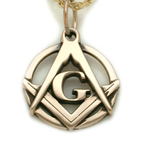 The 14K Gold G Pendant