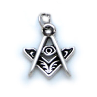 Three Points of Light - All Seeing Eye - Silver