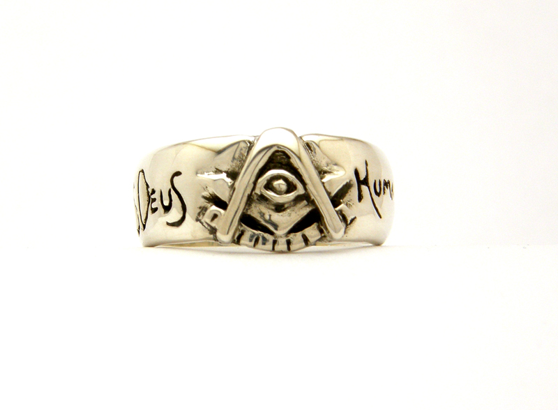 Brotherhood Past Master Ring with All Seeing Eye