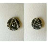 Small S/C Eye Lapel Pin