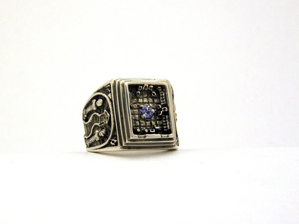 Traveller's Ring with Tanzanite Gem