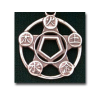 The Five Elements, Sterling  Silver