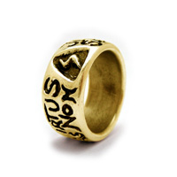 The 18K Gold Lodge of Perfection Ring