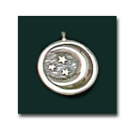 The Moon Pendant Sterling Silver