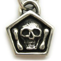 14k Yellow Gold Mortality Pendant
