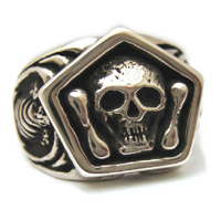 The Mortality Ring - 14K White Gold