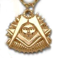 The 14K Yellow Gold Past Master's Jewel