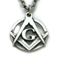 The Platinum G Pendant