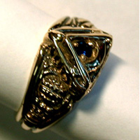 The 14K Yellow Gold Quadrant Past Master's Vide, Aude, Tace