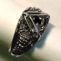 The Sterling Silver Past Master's Vide, Aude, Tace
