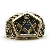 Square and Compass Mortality Ring
