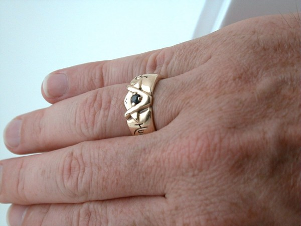 Fraternity Ring Finger